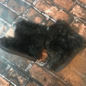 Old Navy Shoes - Old Navy NWT Brown Fur Boots